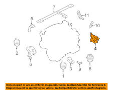 FORD OEM Engine Motor Transmission-Restrictor Mount 5F9Z6068BB