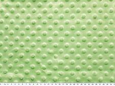 Minky 3 D Noppenflausch Wellnesss Fleece hellgrün 155cm