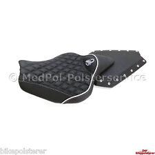 Kawasaki Z1000 Komfort Sitzbank: Gel-Einlage, Lendenstütze und Stick