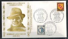 1983-Fdc-Enveloppe Philatélique 1°Jour**J.Moulin-Obl.Metz-Timbre Yt.734/757