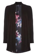 Viscose V Neck Floral Jumpers & Cardigans for Women