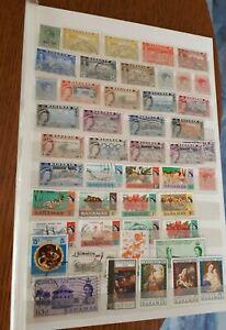 Britische Kolonien Karibik: Bahamas, Montserrat,Trinidad &Tobago Sammlung.
