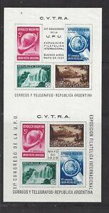 ARGENTINA - 468b S/S - MH - 1939 - 11TH UPU CONGRESS - ARGENTINA INT'L PHILEX