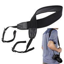 Black Quick Rapid Shoulder Sling Belt Neck Strap For Universal Camera DSLR SLR