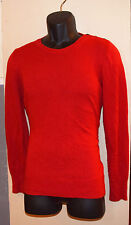 Gap Luxe Pullover Sweater Size L Large Red Angora Top Soft Knit Misses Womens