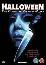 Halloween The Curse Of Michael Myers Donald Pleasence, Paul Rudd NEW UK R2 DVD