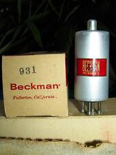Beckman 931 rare Electrometer tube tetrode pristine 1229 derivative NIB NOS tube