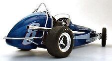 1 Midget Sprint Dirt Race Sport Car Vintage Racer 12 1960s Indy Carousel Blue 18