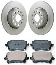 VW Passat 362 365 3C2 3C5 Rear Brake Discs & Pads Set 2005-2014