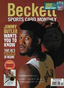 ~$10 Beckett Sports Card Monthly Price Guide Magazine Jimmy Butler November 2020