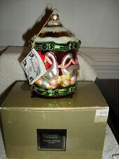 Kurt Adler Polonaise Christmas Six Geese A Laying Ornament Ap1075 Worn Box