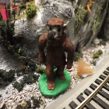 O Scale Bigfoot/ Yeti / Adominable Snowman- Model train/ diorama/ Dollhouse