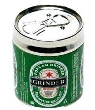 Heineken Beer Can Pattern 4 Layers Herb Metal Herbal Spics Grinder