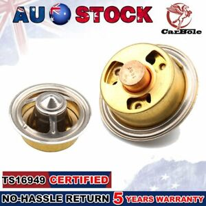 High-Flow Thermostat Fit Copper/Brass Chevy/Ford/Jeep Thermostat 160-Degree 4363