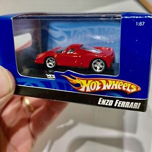 Enzo Ferrari 1:87 scale, Real Rider Tires, Mint & Unopened, 2007, Hot Wheels