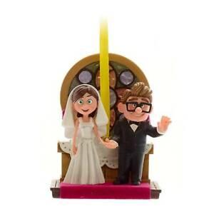 Disney Up Carl & Ellie Wedding Sketchbook Christmas Tree Ornament Decoration