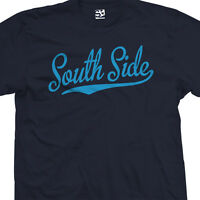 South Side Script Tail T-Shirt - City Rep Southside  Tee - All Sizes & Colors