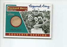 RAYMOND BERRY Autographed Signed 2001 Topps Heritage SEAT card Baltimore Colts