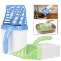 Cat Litter Scoop Plastic Waste Scooper Poop Pet Sand Shovel Cleaning Tool