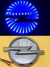 3D LED Car Tail Logo Blue Light for Opel Emblems Auto Badge Light