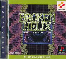 Broken Helix  PS1 Playstation 1 Japan Import  Good   US SELLER