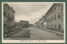 RONCHI DEI LEGIONARI (Gorizia).Via Dante Alighieri. Cartolina viaggiata nel 1934