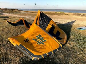 Kite F-One Bandit S 2020, 10 meters with the bar