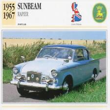 1955-1967 SUNBEAM RAPIER Classic Car Photograph / Information Maxi Card