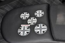 5 pcs set  Cup Coaster for NEW MINI Cooper F56 S Black Union Jack  cup holder