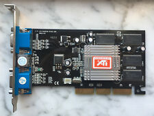Scheda video AGP ATi Radeon 7000 VE 64MB DDR 2xVGA + TV S-Video
