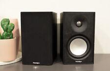 Paradigm Monitor Series Atom Bookshelf Speakers Black Ash - Ex Display