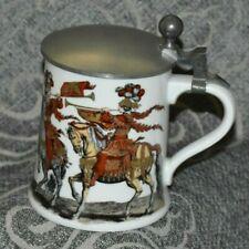 New listing Vintage Porcelain Lidded Beer Stein Alboth & Kaiser Bavaria Alka-Kunst Germany