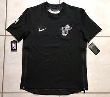 NWT NIKE THERMA FLEX Miami Heat NBA Warm Up Shooting Shirt Men's Medium