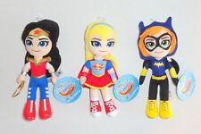 New DC Super Hero Girls Plush Doll Lot Set Batgirl Wonder Women NWTs P14