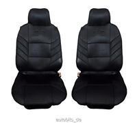 2x Sitzauflage Sitzaufleger Schwarze Autositzauflage Autositz Hochwertig Neu für