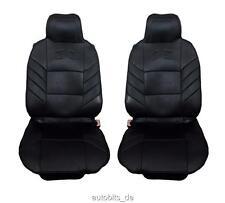 2x Sitzauflage Sitzaufleger Schwarze Universal Autositzauflage Autositz Schutz