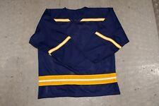 ICE HOCKEY JERSEY IN UNIVERSITY OF MICHIGAN 'WOLVERINES' COLOURS