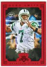 2015 Panini Gridiron Kings Framed Parallel Red Frame #21 Geno Smith NY Jets