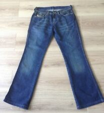 DIESEL RAME JEANS WOMENS BOOTCUT SIZE 29 X 30 VGC MADE IN ITALY SEE DESCRIPTION