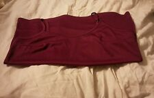 BNWOT WOMEN'S LARGE CAMISOLE TANK TOP SHELL DARTS WINE/PURPLE VERY NICE
