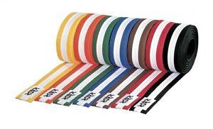 Gürtel mehrfarbig, KWON. 100% feste Baumwolle. Karate, Judo, Ju Jutsu, Taekwondo