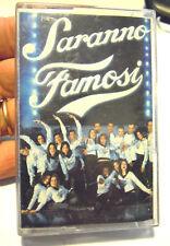 """MUSICASSETTA """" SARANNO FAMOSI """" ( AMICI DI MARIA DE FILIPPI ) 2002  (VV-1)"""