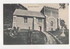 Bramber Church Sussex Vintage Postcard 752a