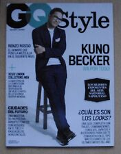 GQ STYLE Magazine Mexico,Kuno Becker Renzo Rosso NEW