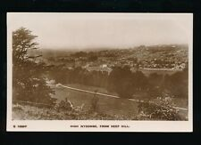 Buckinghamshire Bucks HIGH WYCOMBE from Keep Hill pre1919 RP PPC by Kingsway