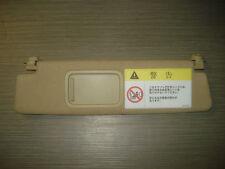 Audi R8 Sonneblende links 420857551C Alcantara beige Spiegel Shield Lens Hood