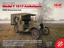 ICM 1/35 modelo T 1917 Ambulancia WWI AMERICANO COCHE #35661