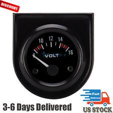 """52mm 2"""" inch LED Universal Car Auto 8-16V Voltmeter Volt Voltage Gauge Meter"""
