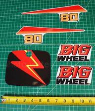 5pc Yamaha 1987 BW80 BIG WHEEL decals stickers graphics kit