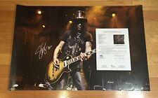 Slash Signed Autographed 24x36 Photo Poster Guns N' Roses JSA PROOF